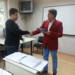 "Awarding certificates for ""A bookkeeping assistant"""