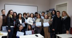 "Awarding certificates for ""A bookkeeping assistant"" – 2016"