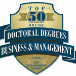 Apollos University has been ranked the 23rd top online doctoral degree program