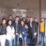 Студиска посета на студентите во државни институции