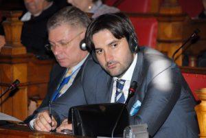 Ranko Cvetkovic at the Oxford Town Hall 1